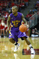 29 December 2011:  Janthony James during an NCAA mens basketball game between the Northern Illinois Panthers and the Illinois State Redbirds in Redbird Arena, Normal IL
