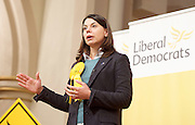 public meeting on Brexit with Sarah Olney Liberal Democrat candidate in the Richmond Park by election at Christ Church, New Malden, Surrey, Great Britain <br /> 26th November 2016 <br /> <br /> <br /> Sarah Olney <br /> <br /> <br /> <br /> Photograph by Elliott Franks <br /> Image licensed to Elliott Franks Photography Services