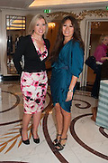MARIE KLUTH; JACKIE O'LEARY, The Foreign Sisters lunch sponsored by Avakian in aid of Cancer Research UK. The Dorchester. 15 May 2012