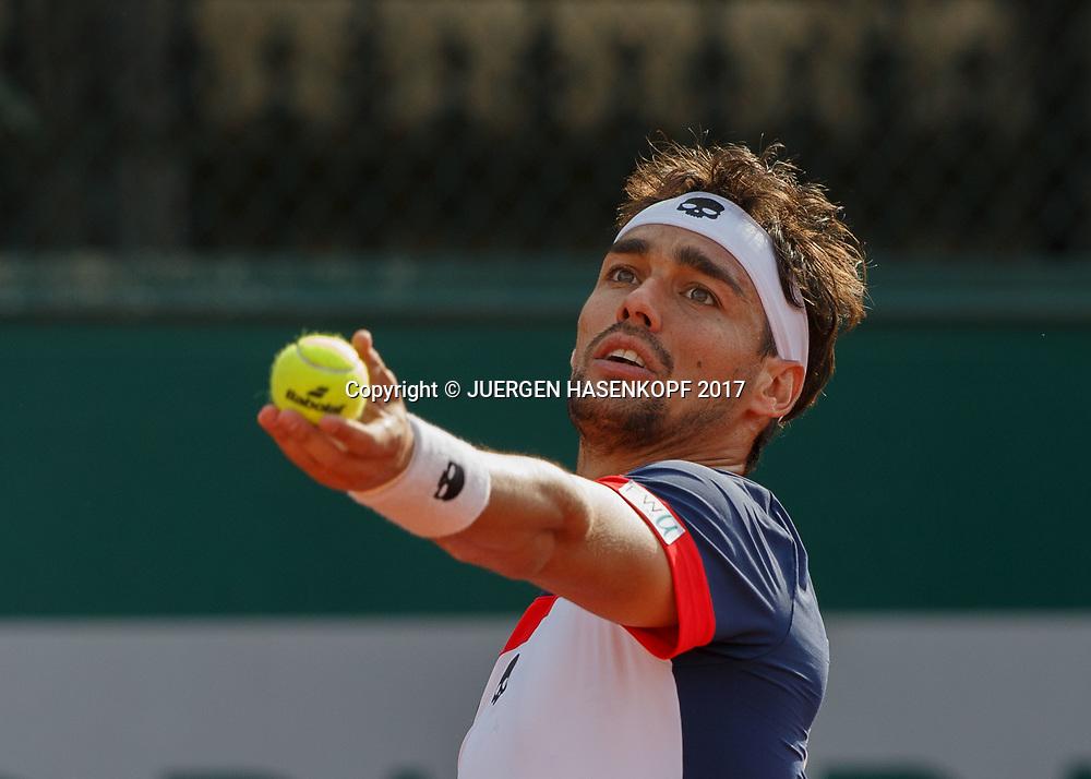 FABIO FOGNINI (ITA))<br /> <br /> Tennis - French Open 2017 - Grand Slam ATP / WTA -  Roland Garros - Paris -  - France  - 29 May 2017.