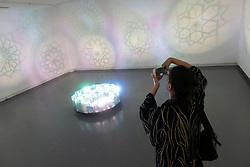 Sharjah, UAE. 20 December 2018. Modern Islamic art is presented at the  21st Islamic Arts Festival which opened this week in Sharjah, UAE.  The festival runs until 19 January 2019 and features work by International artists at various locations across the city. Pictured; Art installation The Unfixed Stars by Jonathan Sims