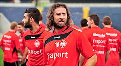 05.07.2010, Commerzbank-Arena, Frankfurt, GER, 1. FBL, Trainig Eintracht Frankfurt im Bild Ioannis Amanatidis (Frankfurt GR #18) und / SPORTIDA PHOTO AGENCY