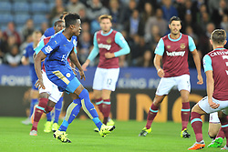 Leicester City v West Ham Utd, Carling Cup Round 3, King Power Stadium, Tuesday 22nd September 2015.Leicester City v West Ham Utd, Carling Cup, King Power Stadium, Tuesday 22nd September 2015.