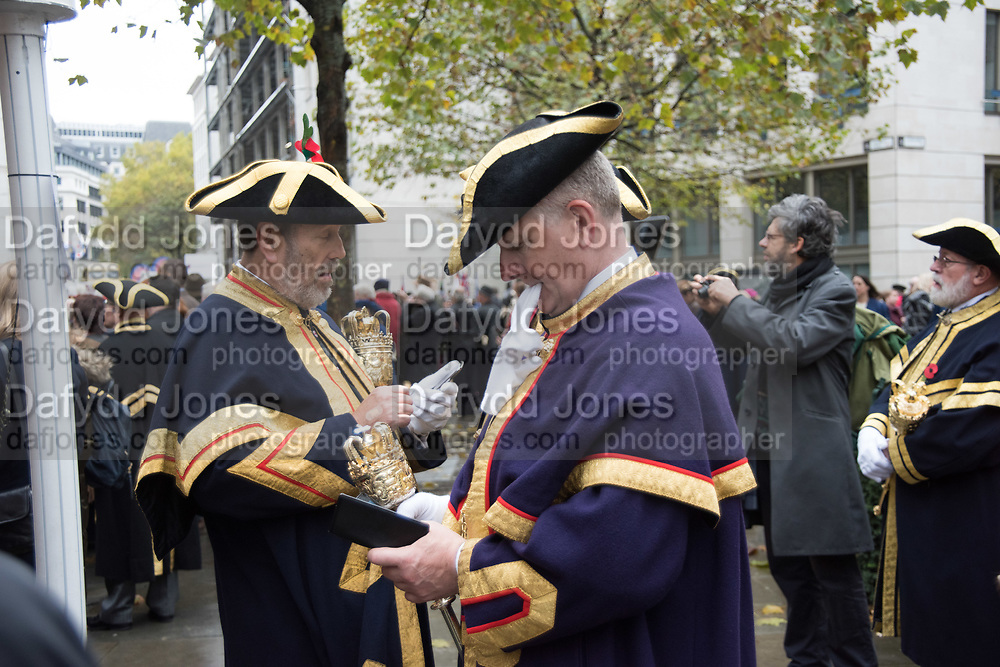 WARDE BEADLES, Lord Mayor's show London. 11 November 2017.