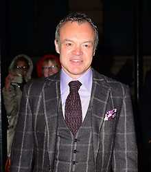 Graham Norton attends a VIP private view of David Bailey: Bailey's Stardust, a major exhibition showcasing the work of acclaimed fashion photographer David Bailey, providing a retrospective of his career during which he has photographed stars including The Beatles, Andy Warhol and Jack Nicholson. Sponsored by Hugo Boss, at National Portrait Gallery, St Martin's Place,  London, United Kingdom. Monday, 3rd February 2014. Picture by Nils Jorgensen / i-Images