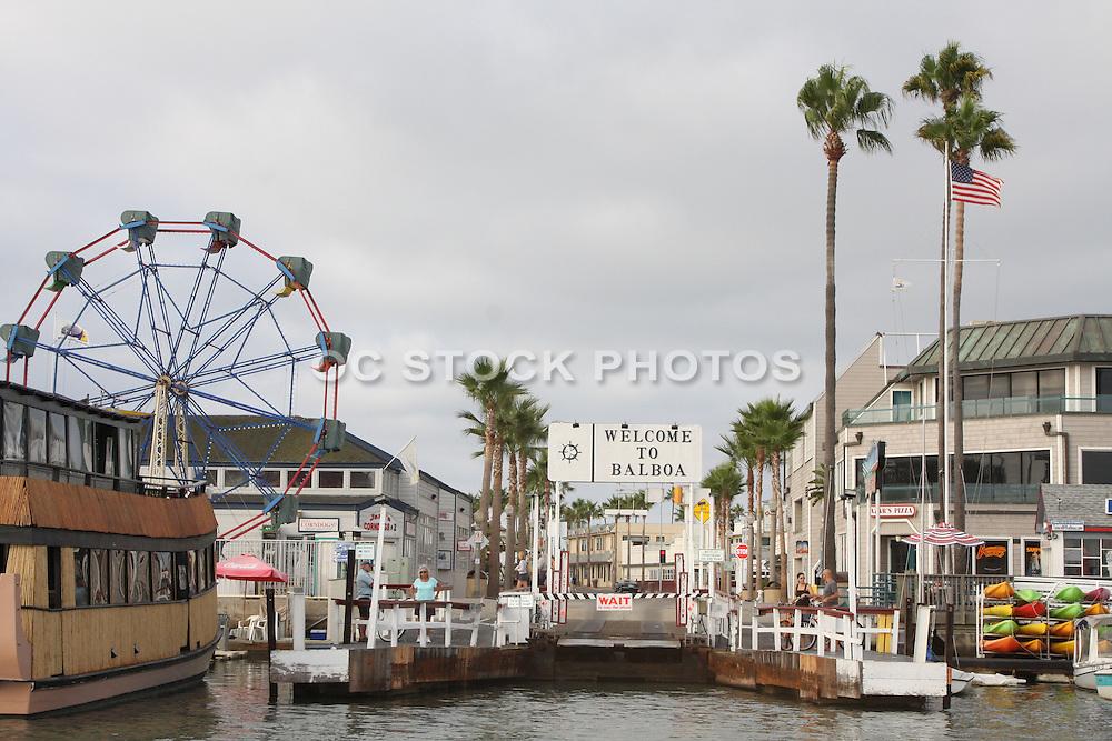 Balboa Fun Zone Newport Beach California