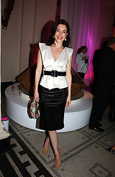Actress JAIME MURRAY at the British Fashion Awards 2006 sponsored by Swarovski held at the V&A Museum, Cromwell Road, London SW7 on 2nd November 2006.<br />