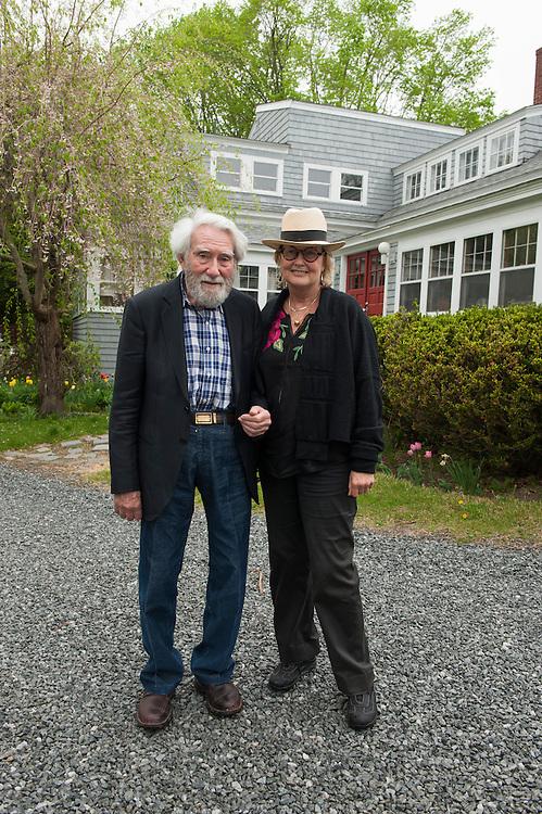 German artist Otto Piene lives with his wife Elizabeth Goldringon their farm in Groton, Massachusetts, USA.<br /> <br /> Photo &copy; Stefan Falke<br /> www.stefanfalke.com