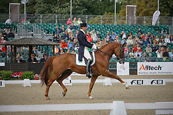 Kittel Patrick (SWE) - Scandic<br /> European Championship Dressage Windsor 2009<br /> © Hippo Foto - Dirk Caremans