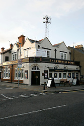 UK ENGLAND LONDON 13DEC11 - The Princess Royal pub on a corner of the Brentford stadium in west London...jre/Photo by Jiri Rezac....© Jiri Rezac 2011