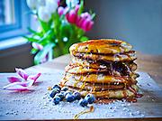 Pancakes<br /> <br /> photographs by Alan Peebles