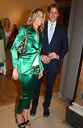 BEN ELLIOT and TARA BERNERD at the Royal Academy of Arts Summer Exhibition Preview Party held at Burlington House, Piccadilly, London on 2nd June 2005<br />