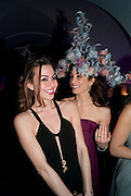 ADELINE DE MONSEIGNAT; DIANE SAID, The Surrealist Ball in aid of the NSPCC. Hosted by Lucy Yeomans and Harry Blain. Banqueting House. Whitehall. 17 March 2011. -DO NOT ARCHIVE-© Copyright Photograph by Dafydd Jones. 248 Clapham Rd. London SW9 0PZ. Tel 0207 820 0771. www.dafjones.com.