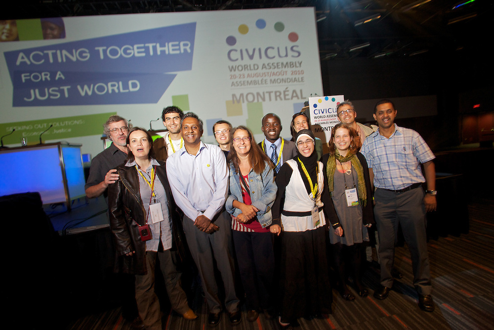 "The CIVICUS 2010 World Assembly closes on Monday August 23rd, 2010 in Montreal, Canada...The keynote address was given by Salil Shetty of Amnesty International and was followed by a ""Every Human Has Rights"" activity."