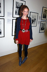 Model LILY COLE at the opening of an exhibition entitled Exceptional Youth supported by Teen Vogue at the National Portrait Gallery, London on 3rd November 2006.<br /><br />NON EXCLUSIVE - WORLD RIGHTS
