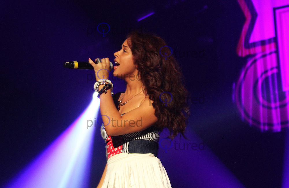 Alexis Jordan Girlguiding UK Big Gig, Wembley Arena, London, UK. 01 October 2011 Contact: Rich@Piqtured.com +44(0)7941 079620 (Picture by Richard Goldschmidt)