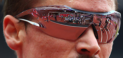 July 22, 2018 - London, United Kingdom - Reflection of the photographers in glass of Henrik Ingebrigtsen of Norway after the 1500m Men.during the Muller Anniversary Games Day One at The London Stadium on July 22, 2018 in London, England. (Credit Image: © Action Foto Sport/NurPhoto via ZUMA Press)