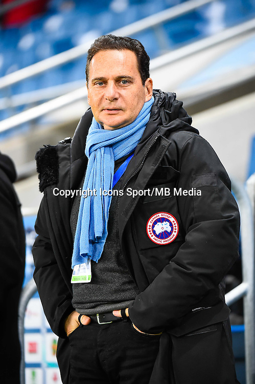 Eric BESSON  - 12.12.2014 - Le Havre / Laval - 17eme journee de Ligue 2 <br /> Photo : Fred Porcu / Icon Sport