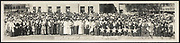 World War I Panoramas <br /> <br /> These long panoramic photographs show U. S. military personnel and camps, patriotic parades, and European battlefields and cemeteries related to WWI.<br /> <br /> PHOTO SHOWS: Mothers of McLennan Co., whose hearts and hopes are in France, assembled for the 4th Liberty Loan Parade, Sept. 27th, 1918<br /> ©Library of Congress/Exclusivepix Media