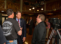 Kickoff for the 2018 Laconia Motorcycle Week Rally celebrating the 95th at Gunstock Resort.  (Karen Bobotas/for the Laconia Daily Sun)