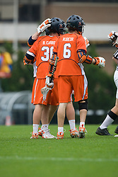 05 April 2008: Virginia Cavaliers during a 11-12 OT win over the North Carolina Tar Heels on Fetzer Field in Chapel Hill, NC.