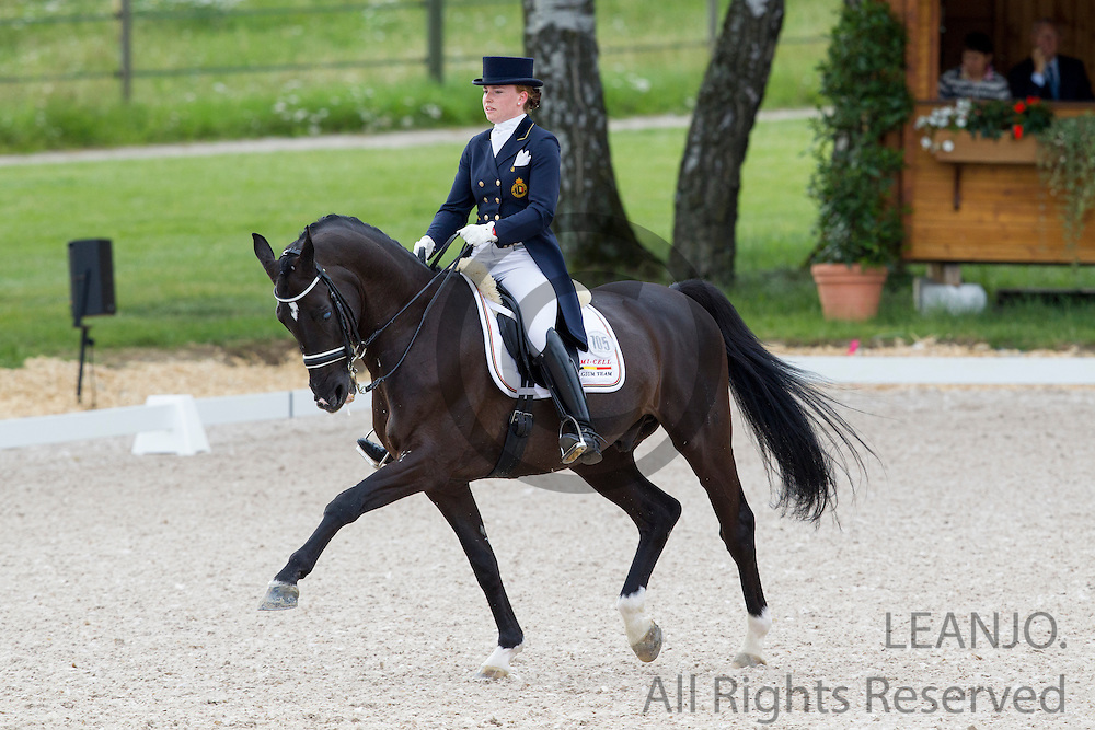 Francesca Hoefnagels - Sir Cloud<br /> FEI European Championships Dressage Juniors and Young Riders 2012<br /> © DigiShots