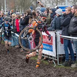 14-01-2018: Wielrennen: NK Veldrijden: Surhuisterveen<br />Sieben Wouters