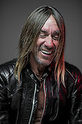 Iggy Pop poses in Miami, FL. Photo by Josh Ritchie