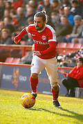 Charlton Athletic midfielder Ricky Holmes (11) during the EFL Sky Bet League 1 match between Charlton Athletic and Fleetwood Town at The Valley, London, England on 4 February 2017. Photo by Andy Walter.