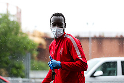 Famara Diedhiou of Bristol City arrives during a friendly match before the Premier League and Championship resume after the Covid-19 mid-season disruption - Rogan/JMP - 12/06/2020 - FOOTBALL - St Mary's Stadium, England - Southampton v Bristol City - Friendly.