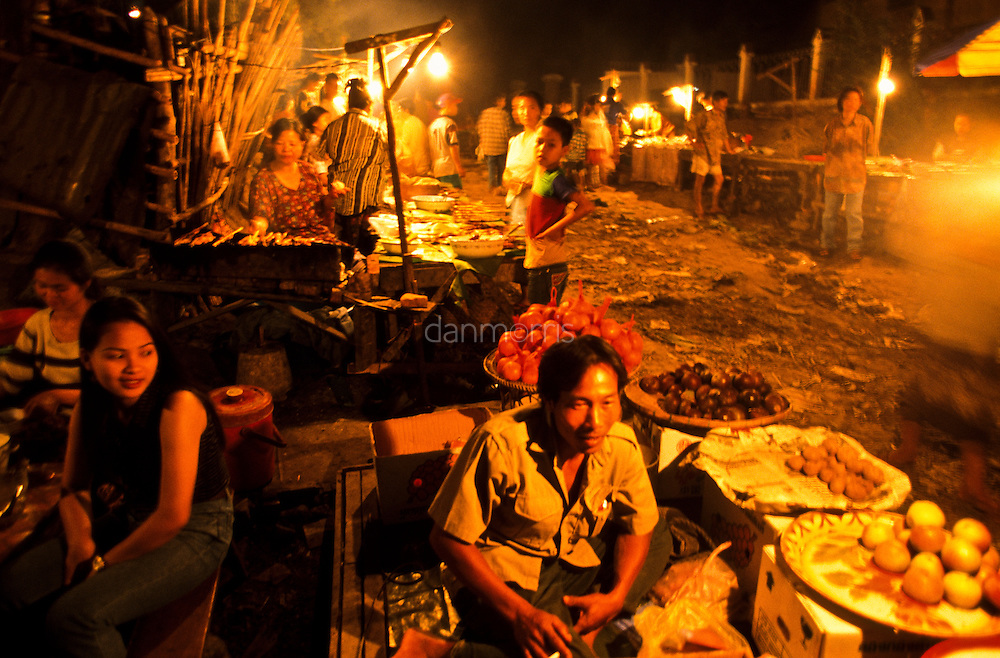 Night Market, Luang Phrabang, Laos