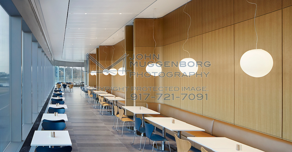 The New Kellogg School of Management building at Northwestern University, Evanston, IL.<br />