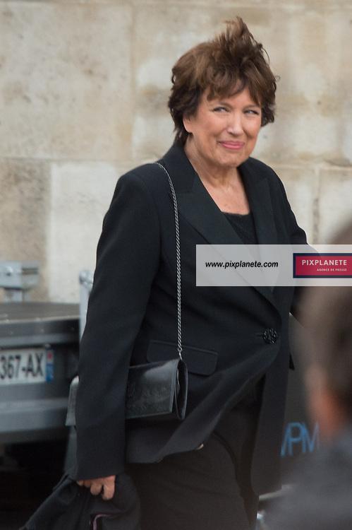 Roseline Bachelot Obsèques de Jacques Chirac Lundi 30 Septembre 2019 église Saint Sulpice Paris