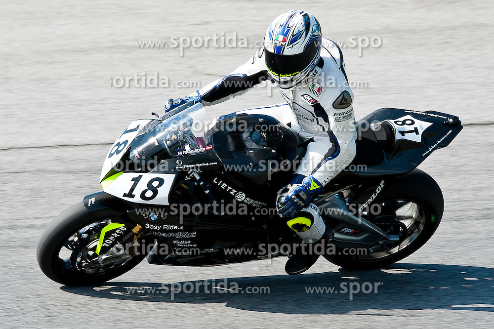 20.08.2011, Red Bull Ring, Spielberg, AUT, IDM Spielberg, im Bild Michael Ranseder, (AUT, IDM Superbike) // during the IDM weekend on the Red Bull Circuit in Spielberg, 2011/08/20, EXPA Pictures © 2011, PhotoCredit: EXPA/ S. Zangrando