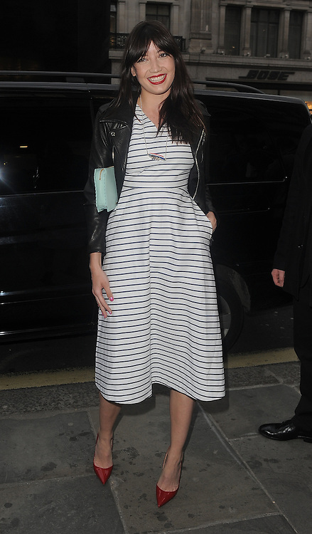 Model Daisy Lowe attends the Kate Spade New York Regent Street - launch in London, UK. 21/04/2016<br />BYLINE MUST READ : GOTCHAIMAGES.COM<br /><br />Copyright by &copy; Gotcha Images Ltd. All rights reserved.<br />Usage of this image is conditional upon the acceptance <br />of Gotcha Images Ltd, terms and conditions available at<br />www.gotchaimages.com