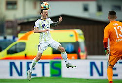 Denis Klinar of Maribor during Football match between NK Triglav and NK Maribor in 25th Round of Prva liga Telekom Slovenije 2018/19, on April 6, 2019, in Sports centre Kranj, Slovenia. Photo by Vid Ponikvar / Sportida