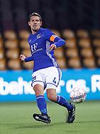 FODBOLD: Mathias Tauber (Lyngby) under kampen i ALKA Superligaen mellem FC Nordsjælland og Lyngby Boldklub den 31. marts 2017 i Farum Park, København. Foto: Claus Birch