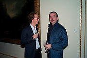 ART VANDELEAY; DARREN FLOOK, ROYAL ACADEMY CONTEMPORARY CIRCLE FUNDRAISING EVENT. Royal Academy. Piccadilly. London. 30 September 2010. -DO NOT ARCHIVE-© Copyright Photograph by Dafydd Jones. 248 Clapham Rd. London SW9 0PZ. Tel 0207 820 0771. www.dafjones.com.