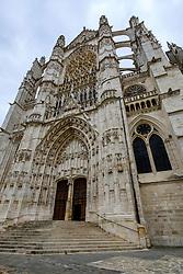 Facade of St Peter's Cathedral (La Cath&eacute;drale Saint-Pierre), Beauvais, France<br /> <br /> (c) Andrew Wilson | Edinburgh Elite media