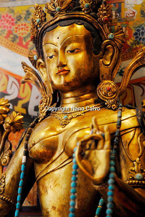 Imported asian buddhist art and crafts, figures and sculptures in a shop of Ibiza, Spain Photo by Nano Calvo - Visual&Written