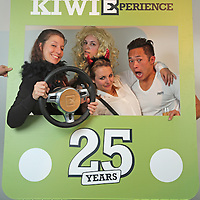 STA Celebrating 25 Years with Kiwi Experience