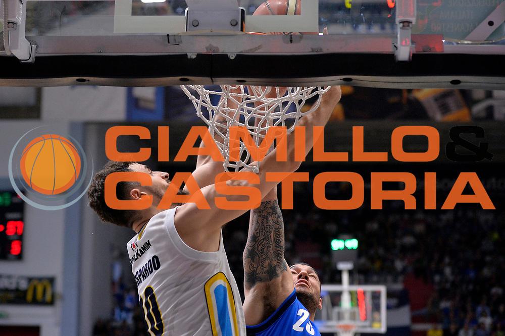 Raphael Gaspardo<br /> Vanoli Cremona - Germani Basket Brescia Leonessa<br /> Lega Basket Serie A 2016/2017<br /> Cremona, 09/04/2017<br /> Foto M.Ceretti / Ciamillo - Castoria