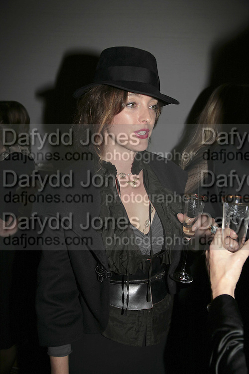ALICE TEMPERLEY, 6th Annual Lancªme Colour Designs Awards In association with CLIC Sargent Cancer Care.  Lindley Hall, Vincent Sq. London. 28 November 2006.  ONE TIME USE ONLY - DO NOT ARCHIVE  © Copyright Photograph by Dafydd Jones 248 Clapham Rd. London SW9 0PZ Tel 020 7733 0108 www.dafjones.com