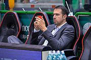 DESCRIZIONE : Beko Legabasket Serie A 2015- 2016 Playoff Quarti di Finale Gara3 Dinamo Banco di Sardegna Sassari - Grissin Bon Reggio Emilia<br /> GIOCATORE : Alessandro Frosini<br /> CATEGORIA : Ritratto Before Pregame<br /> SQUADRA : Grissin Bon Reggio Emilia<br /> EVENTO : Beko Legabasket Serie A 2015-2016 Playoff<br /> GARA : Quarti di Finale Gara3 Dinamo Banco di Sardegna Sassari - Grissin Bon Reggio Emilia<br /> DATA : 11/05/2016<br /> SPORT : Pallacanestro <br /> AUTORE : Agenzia Ciamillo-Castoria/L.Canu