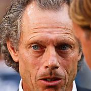 """NLD/Amsterdam/20100731 - Wedstrijd om de JC schaal 2010 tussen Ajax - FC Twente, trainer Michel Preud d""""homme"""