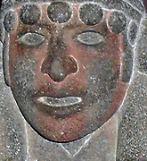 Tonatiuh The Sun God. Aztec, volcanic stone carved, circa 1350-1521 Mexico