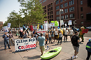 2017 AUG 22: A Clean Water Rule rally in downtown Denver, CO.