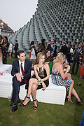 CHARLES JANEWAY; ALICE WHITTAKER, 2016 SERPENTINE SUMMER FUNDRAISER PARTY CO-HOSTED BY TOMMY HILFIGER. Serpentine Pavilion, Designed by Bjarke Ingels (BIG), Kensington Gardens. London. 6 July 2016