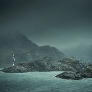 Loch nan Leachd from the 'Bad Step', Isle of Skye