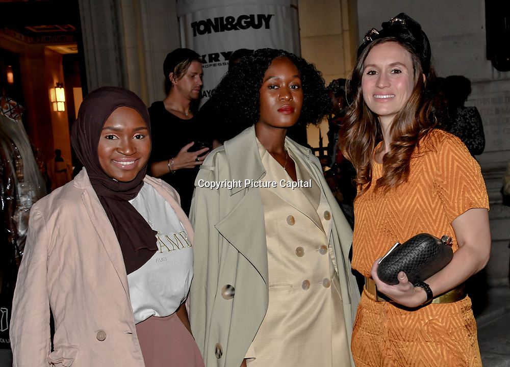 Elspeth Pierce is a Global radio presenter attend Fashion Scout - SS19 - London Fashion Week - Day 2, London, UK. 15 September 2018.